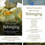 Maleny Printmakers Belonging 2015