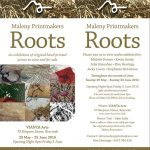 Maleny Printmakers Roots 2016