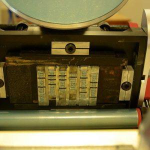 Adana Letterpress Onyx 30pt