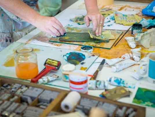 Printmaking Private Tuition with Kim Herringe