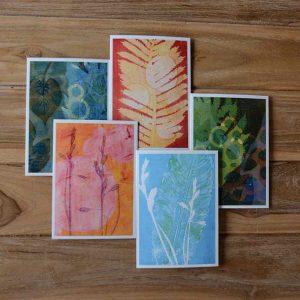 Notecard Set selection of individual blank greeting cards