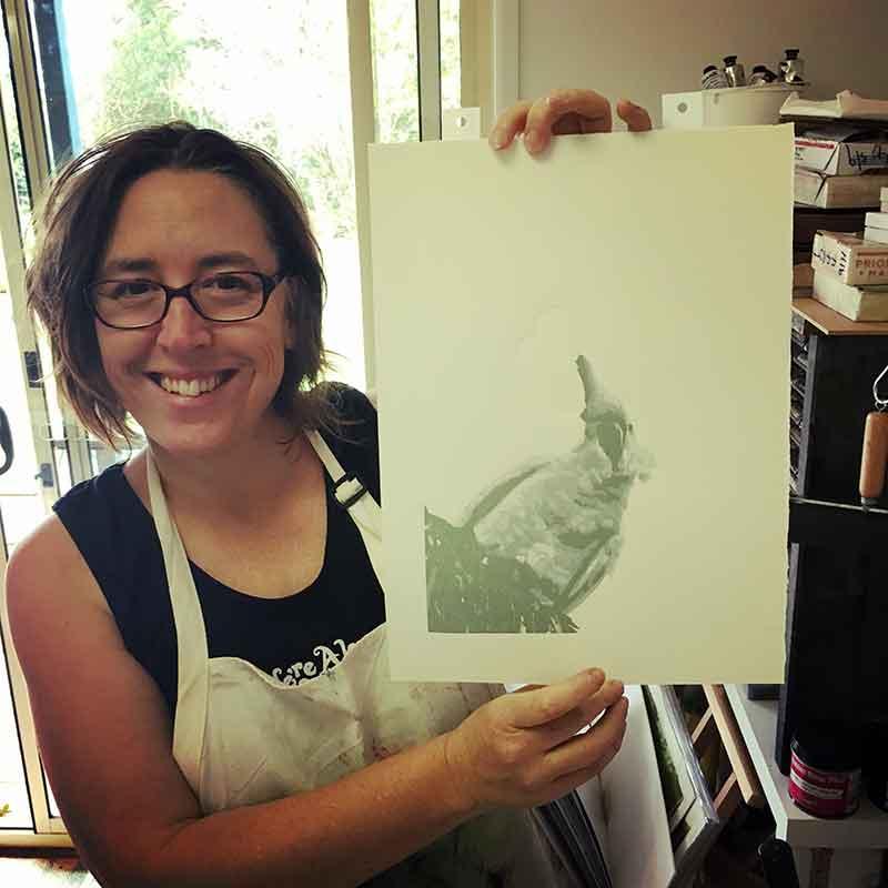 Kim Herringe, printmaker
