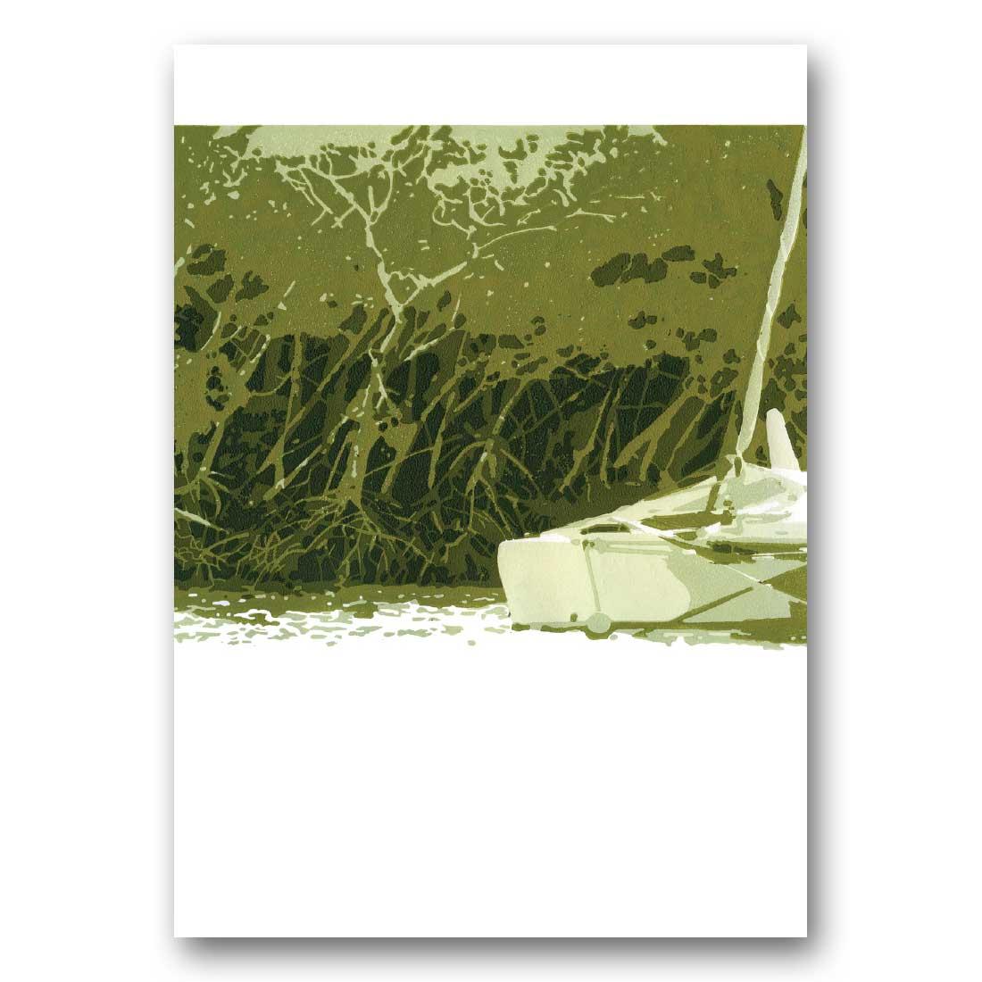 Anchored – Greeting Card