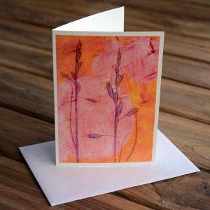 Blank Greeting Card - Afternoon Sun - by Kim Herringe