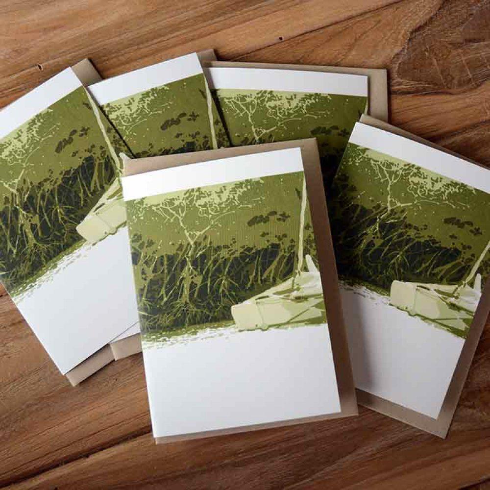 Blank Greeting Card Pack - Anchored - by Kim Herringe