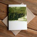 Blank Greeting Card - Anchored - by Kim Herringe