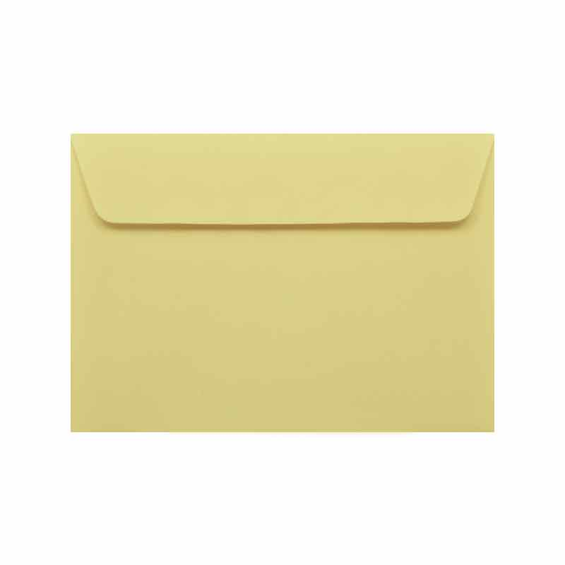 Greeting Card Envelope - Yellow
