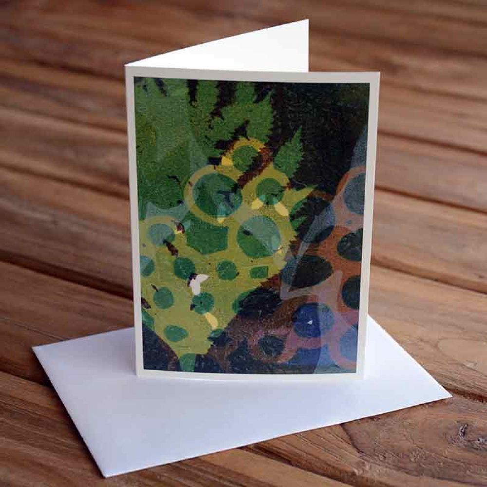 Blank Greeting Card - How Does Your Garden Grow - by Kim Herringe