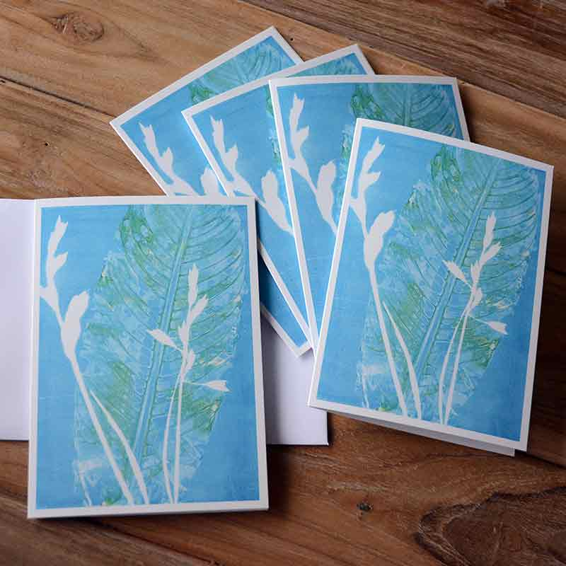 Blank Greeting Card Pack - Morning Dew - by Kim Herringe