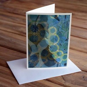 Blank Greeting Card - Morning Glory - by Kim Herringe
