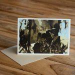 Blank Greeting Card - Persistance - by Kim Herringe
