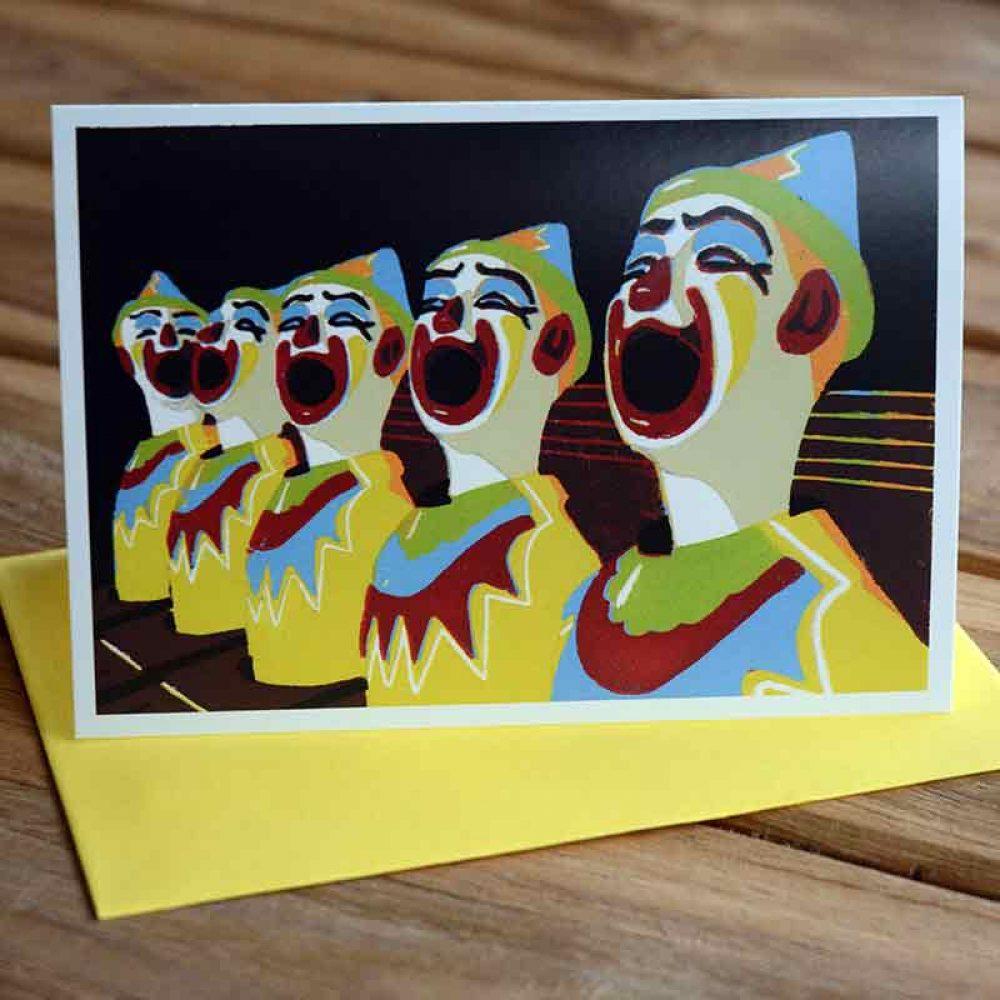 Blank Greeting Card - Stuck in Sydney - by Kim Herringe