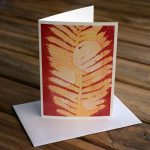 Blank Greeting Card - Sunrise - by Kim Herringe