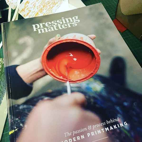 Pressing Matters magazine - printmaking inspiration