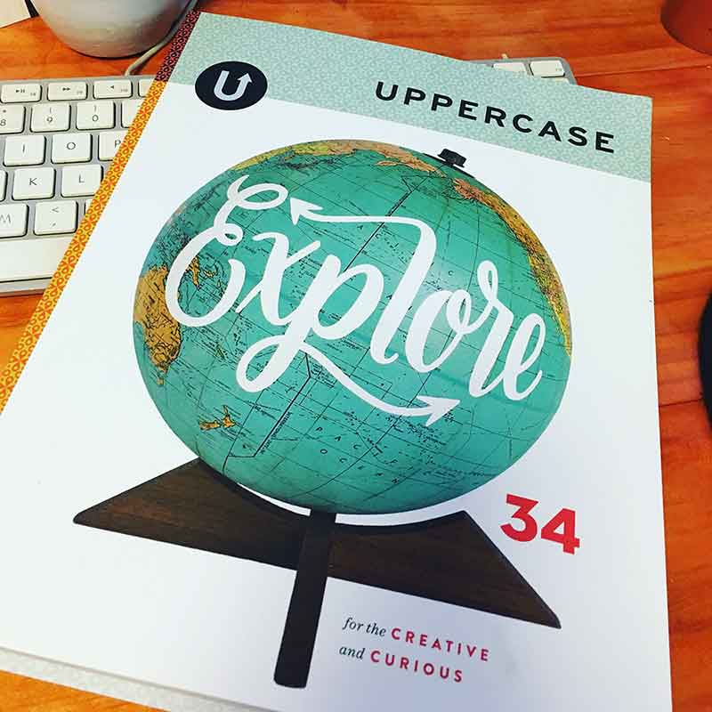 Uppercase magazine - creative inspiration