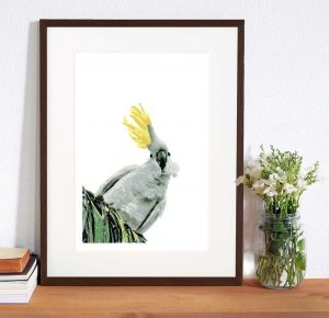 Ruffled Feathers giclee print