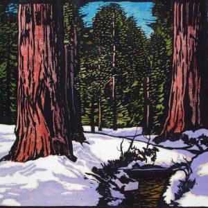 William Rice Big Trees in Snow