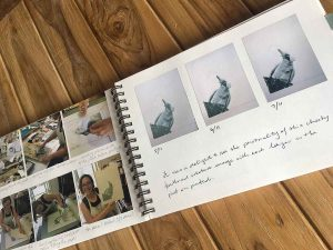 my printmaking process book - Ruffled Feathers by Kim Herringe
