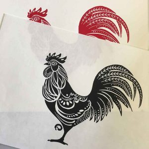 Linoprinting Basics Workshop - One colour Lino printing