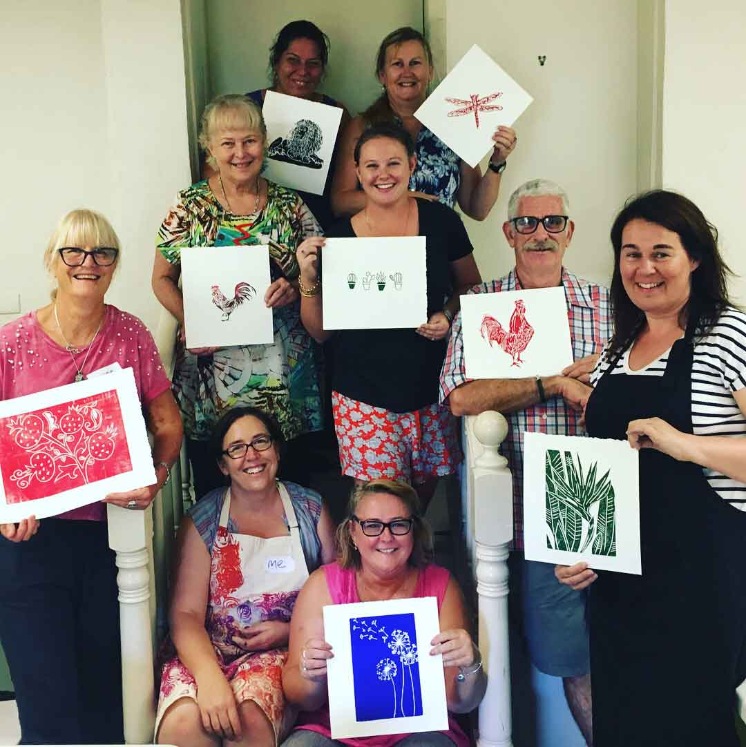 Linoprinting 101 Workshop January 2018Linoprinting 101 Workshop January 2018
