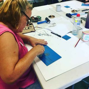 Linoprinting 101 Workshop January 2018
