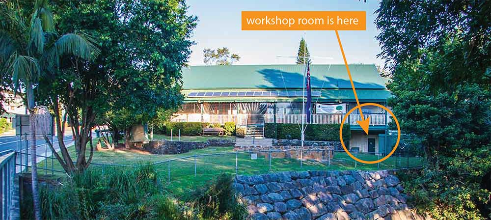 Maleny RSL Hall workshop location