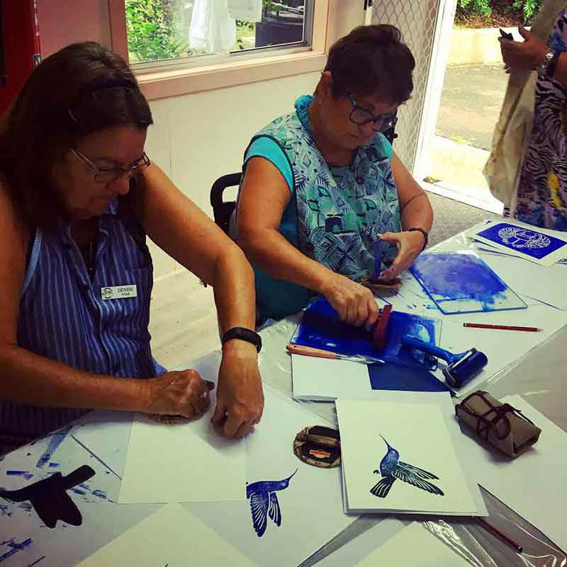 Private Group Printmaking Art Workshops