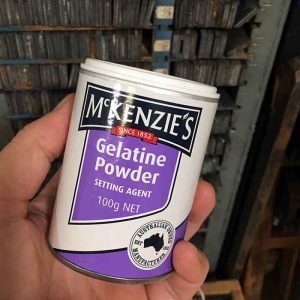 McKenzie's gelatin powder for home made gelatin plate recipe