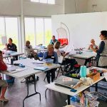 Printmaking and Teaching - my 2 passions