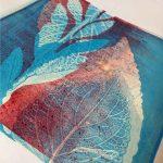 Gelli Plate - gelatin plate monoprint