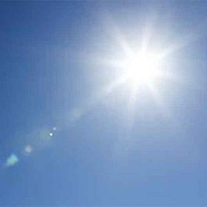 UV light source - the sun