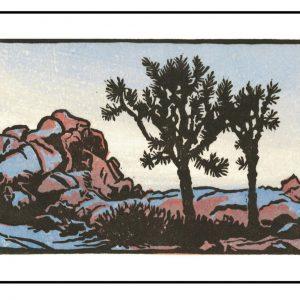 Joshua Tree Dusk by Sophie Graine