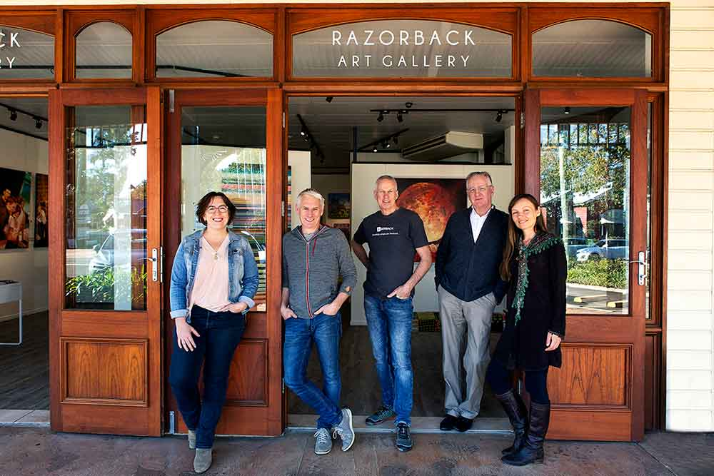 The Artists of Razorback Gallery