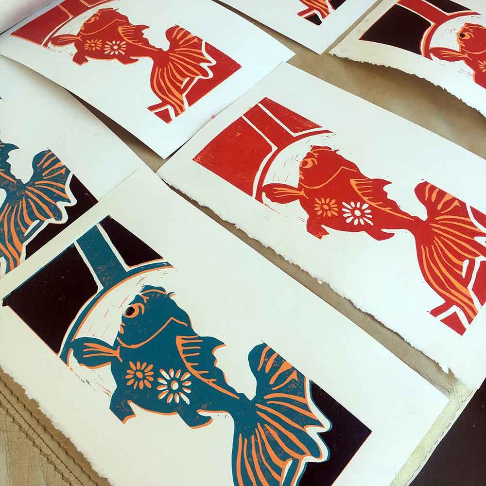Colour Linoprinting Basics September 2018
