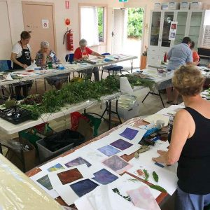 Private Group Gelatin Plate Workshops - Palmwoods Arts and Crafts