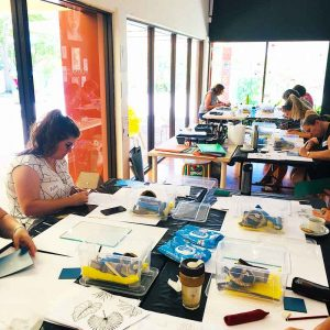 Private Group Lino Print Workshops - Noosa Regional Gallery