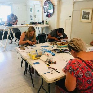 Private Group Linoprinting 101 Workshop - House of Artisan