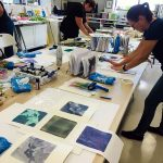 Gelatin Plate Printing and Monotype Workshop May 2019