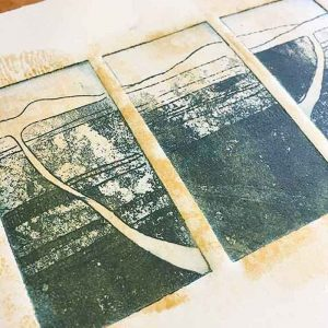Etchings and Solar Plate prints