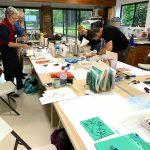 Linoprinting 101 workshop June 2019