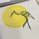 Toni, Linoprinting 101 workshop June 2019
