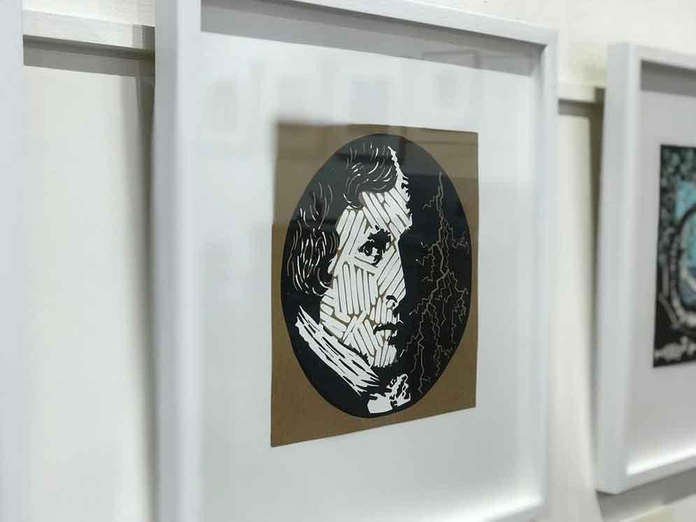 Victor Frankenstein. Alchemist. God? - image couresty Queenscliff Gallery and Workshops