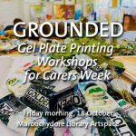 Grounded short workshops during Carers Week