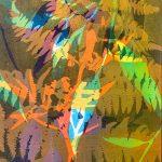 Botanical 6 - Gelatin Plate monotype print