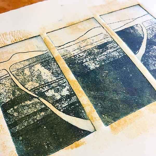Aluminium Metal Plate etching - Hinterland