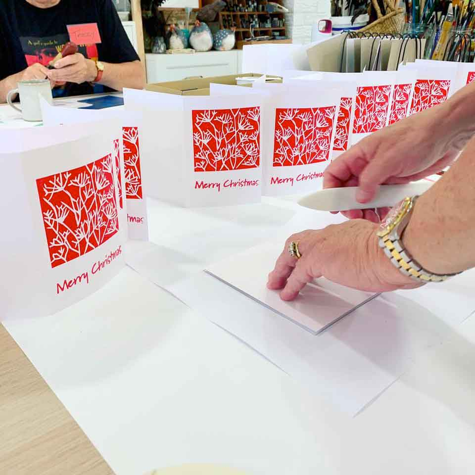 Print Your Own Christmas Cards Workshop Feedback