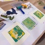Private group Monotype workshop November 2019