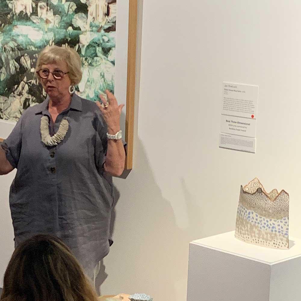 Local Artist Local Content Art Prize 2020 Artist Talks - Jan Roebuck