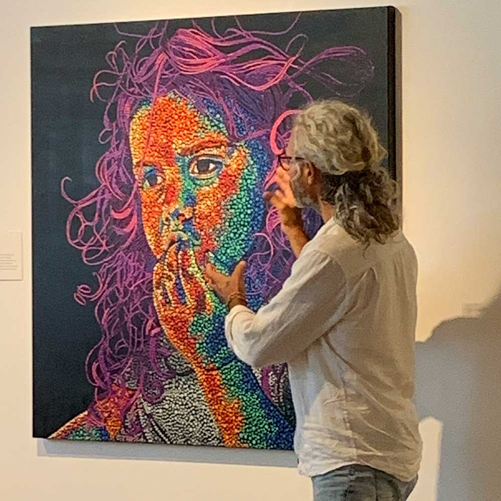 Local Artist Local Content Art Prize 2020 Artist Talks - Jandamarra Cadd | Mindari's Dreaming