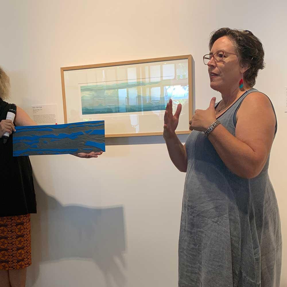 Local Artist Local Content Art Prize 2020 Artist Talks - Kim Herringe